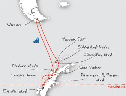 Antarktis-pinguine-polarkreis